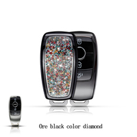 For Mercedes Benz New E Class E200 E260 E300 E320 Alloy Car Remote Key Case Shell Protective Key Cover Fob Holder Car Styling