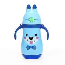 HADELI Children Thermos Water Bottle  Stainless Steel Mug DrinkWare Outdoor Kid Cute Pattern Hot Sale