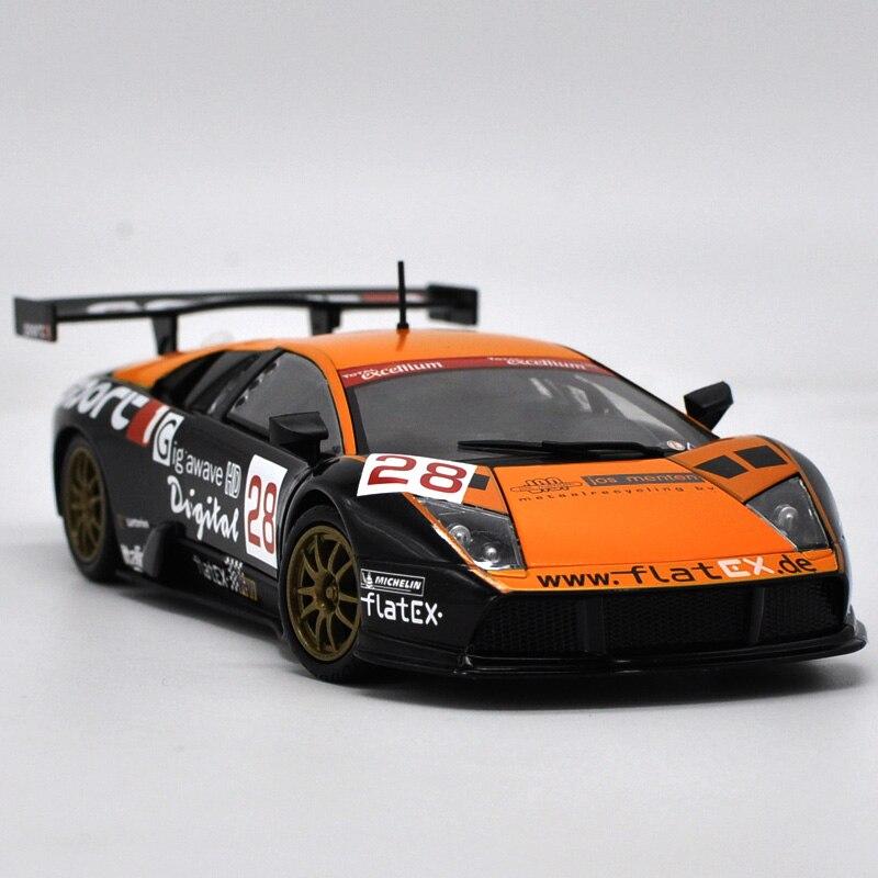 Die-cast Metal Vehicles 1:24 Car Models Coche mkd3 Scale Simulation Auto Toys for Children Sports Car Rambo Murcielago