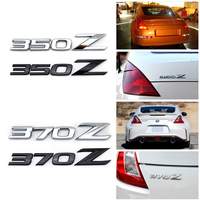 350Z 370Z Aluminum Alloy ABS Car Auto Emblem Badge Stickers For NISSAN 350Z 370Z Fairlady Z