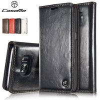 For Samsung Galaxy Note 7 Wallet Case 2016 Pouch Leather Phone Bag For Samsung S7 S7