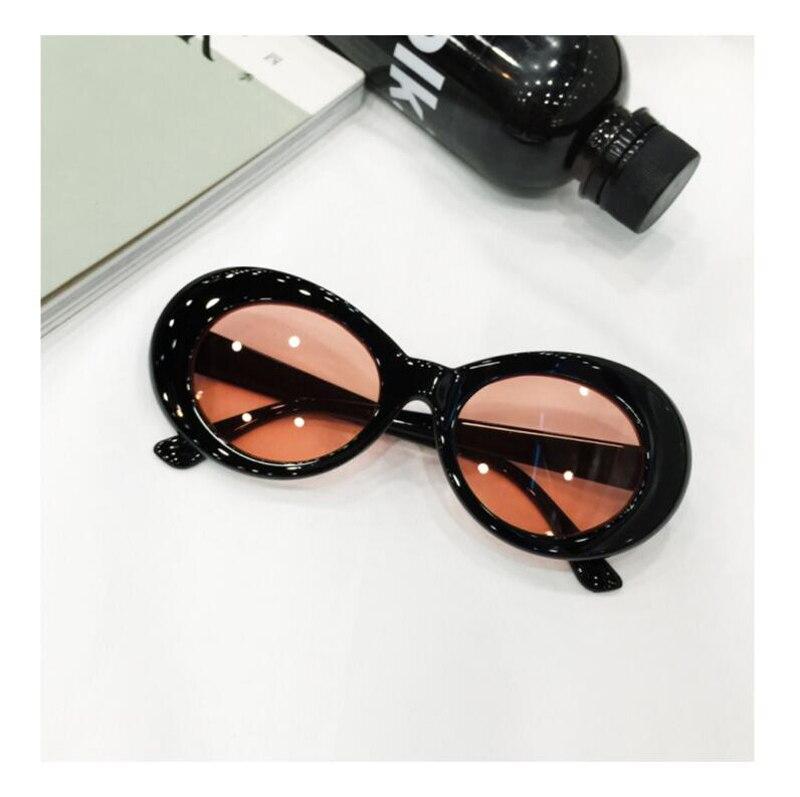 Kurt Cobain Glasses Plastic Oval Frame Fashion Glasses Vintage Mens ...