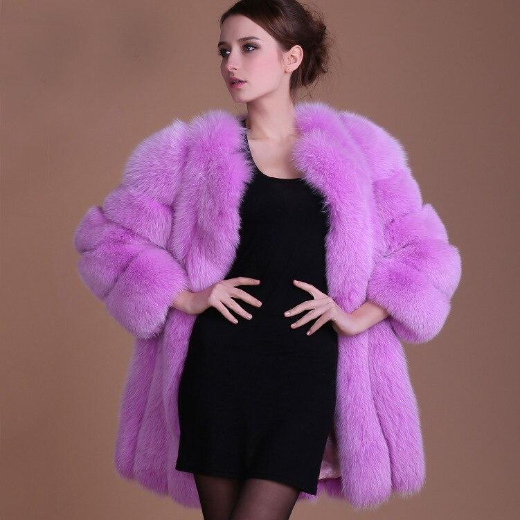 2018 hiver fausse fourrure manteau noir veste épais Long Cardigan grande taille rose longue fausse fourrure femmes hiver blanc manteau femme