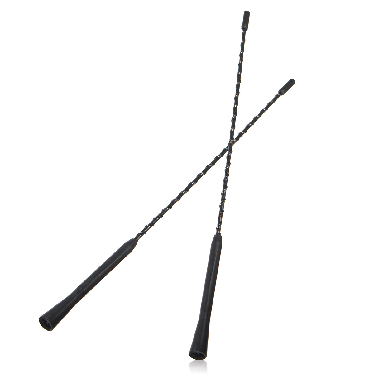 2pcs 16inch Car Auto Replacement Car Aerial Bee Sting Mast Antenna With 2 Screws