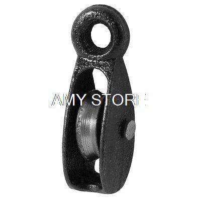 Metal Lifting Tackle 25Kg 0.025T Swivel Hook Single Groove Pulley