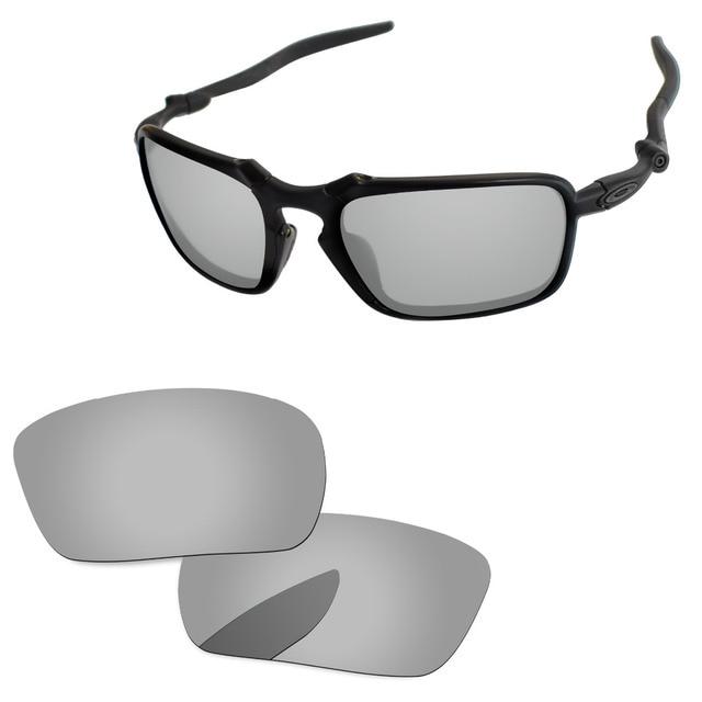 f5edcbae6763a Chrome Silver Mirror Polarized Replacement Lenses For Badman Sunglasses  Frame 100% UVA   UVB Protection