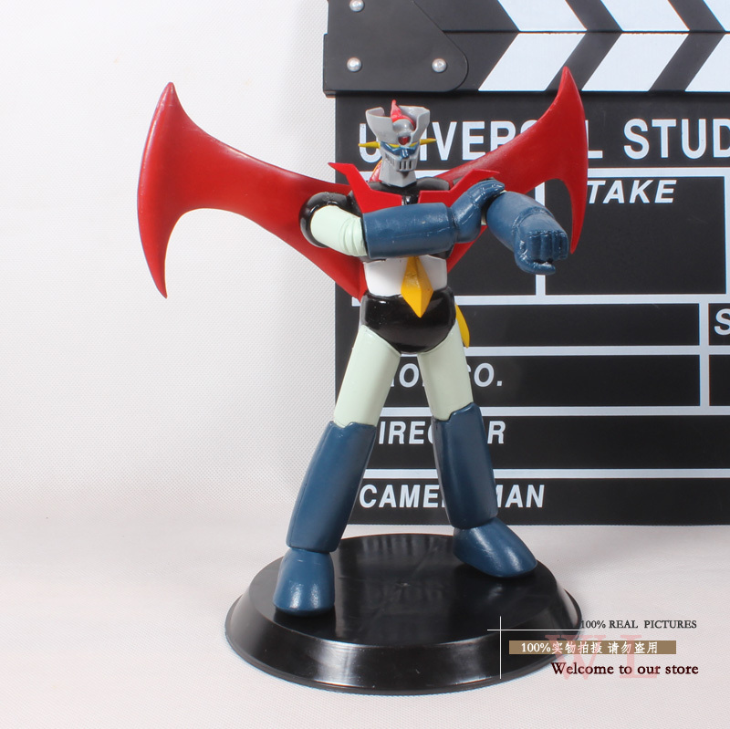 Retail 1pcs Free Shipping 8 Anime Cartoon Mazinger Z PVC Action Figure Collectible Model Toy Robot Toy OTFG096 new hot christmas gift 21inch 52cm bearbrick be rbrick fashion toy pvc action figure collectible model toy decoration