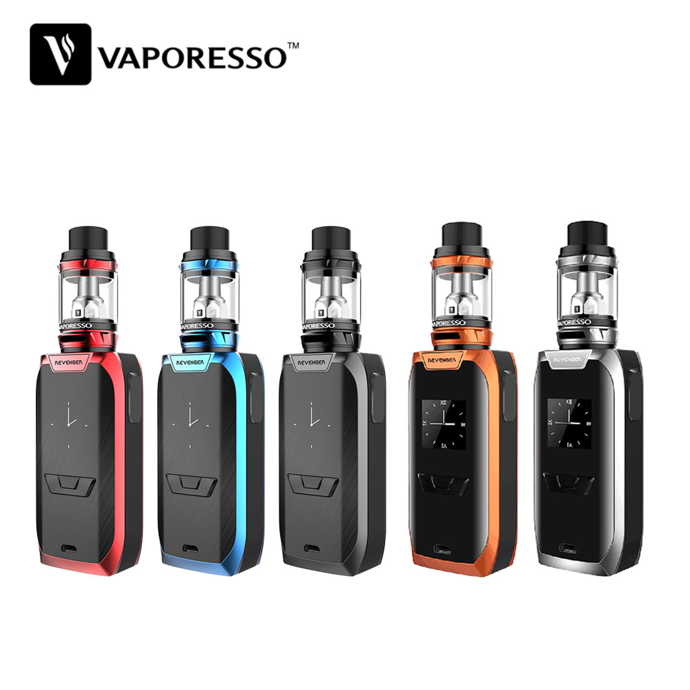 Original Vaporesso Revenger 220W Kit with 5ml NRG Tank 220W Max Output & OMNI Board 2.0 Chipset No 18650 Battery E-cig Vape Kit ceyue fashion brand women shoes breathable air mesh trainers 2017 spring autumn casual shoes woman walking flats tenis feminino