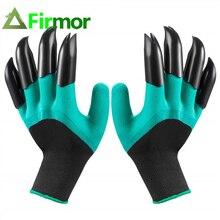 FIRMOR 1 пара садовых перчаток с когтями сад Genie водонепроницаемый и дышащий быстро легко копать и сажать для копания посадки