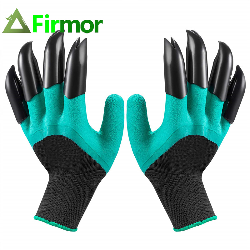 FIRMOR 1 Pair Garden Gloves  With Claws Garden Genie  Waterproof And Breathable Quick Easy To Dig And Plant For Digging Planting