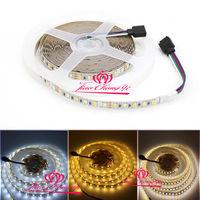 Double Color White +WarmWhite Temperature 2835 LED Strip light 120leds M 12V 5M