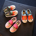 Kids Shoes canvas girls shoes Students Breathable Soft Animal Design toddler boys loafers children shoes Casual Flat sneakers