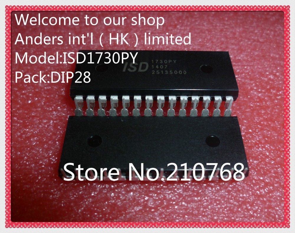 1pcs ISD1730PY ISD1730 DIP-28 Voice Chip Original Package