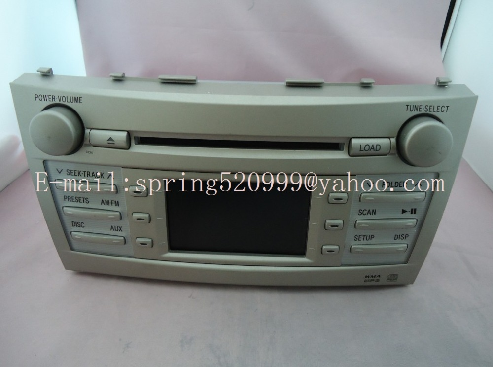 Brand new Matsushita 6 disc CD tuner for TOYOTA CAMRY car radio CD player 86120-YY120 2011 year up