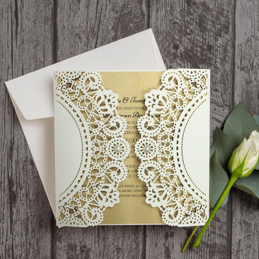 Aliexpresscom buy unique wedding invitations with for Buy wedding invitations in store