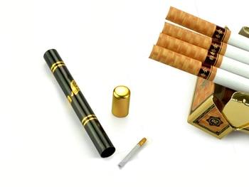 2sets Fashion Tube Shrinking Smoke Cigarette Diminishing Cigar Vanishing magic trick magicians mentalism easy to do fun toy