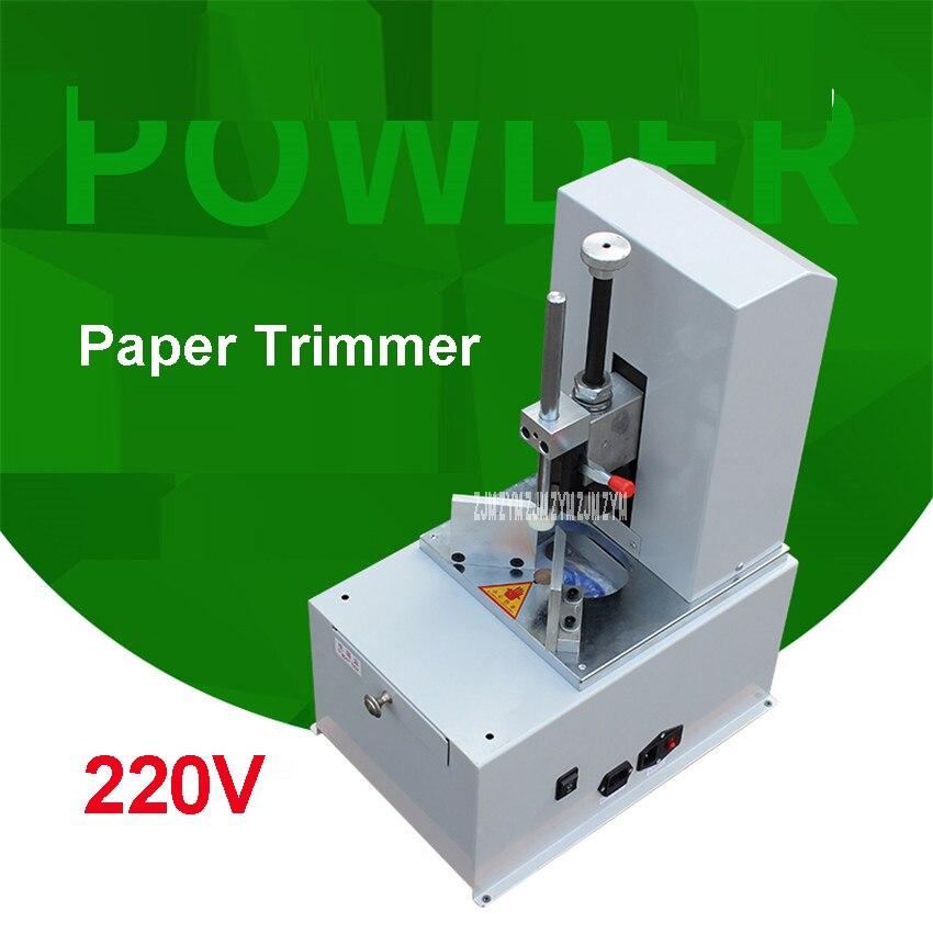 Électrique Coin Rond Machine R3-9 Couteau Massicot Automatique Filet Coupe-Papier Machine Vitesse 1400r/min Nouveau Véritable 220 v