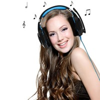 New Arrival EACH G2000 Stereo Surrounded Over Ear 2 2m Wired Gaming Headset Earphone With Light
