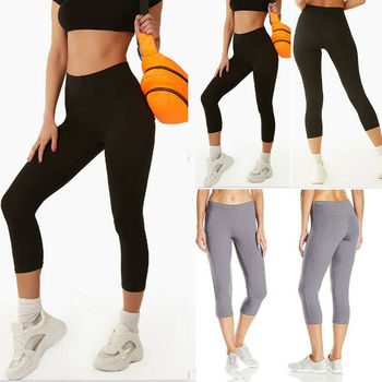 2019 Women Gym Yoga Sport Leggings Fitness Summer Workout Running Stretch Tight image