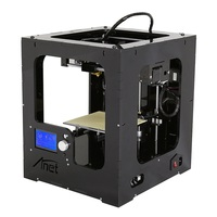 New Full Assembled Desktop 3D Printer Aluminum Extruder Large Printing Size Upgraded Mainboard With 1Roll Filaments