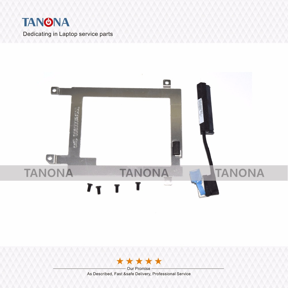 US $14 52  Original New For Dell For Dell Latitude E7440 HDD Hard Drive  caddy bracket &Hard Disk Driver Cable EC0VN000500 00WPRM-in Computer Cables  &
