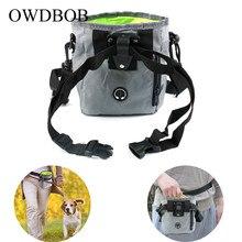 OWDBOB сумка для дрессировки собак, сумка для уличного лечения собак, сумка для наживки щенков, сумка для закусок, сумка для наживки, поясная сумка для корма, карманный питомец