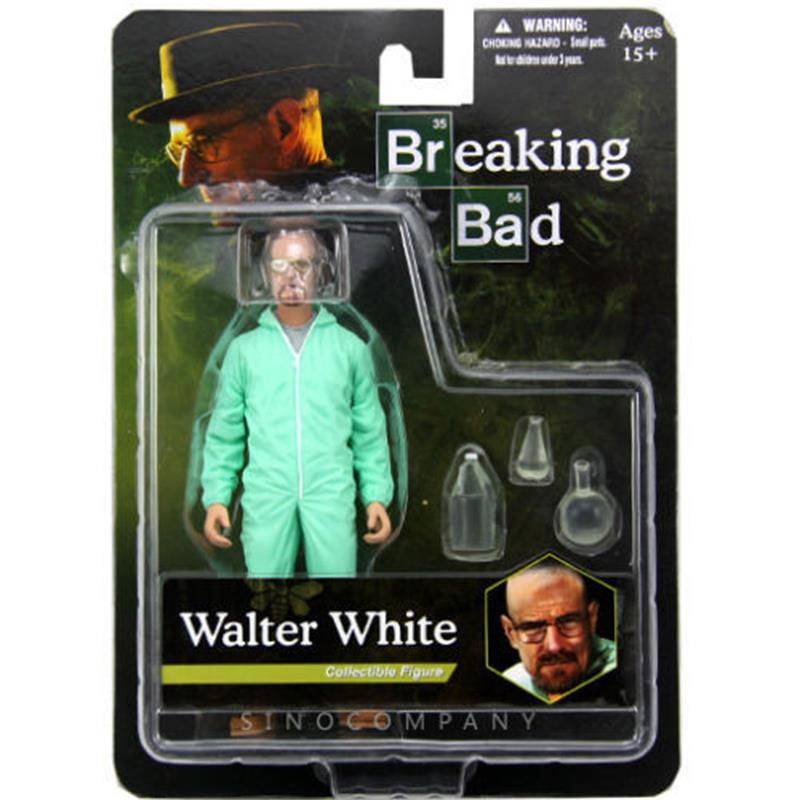 BIXE 6inch Breaking Bad Heisenberg Walter White PVC Action Figure Collectible Figure Model Toy Classic Toys Gift image