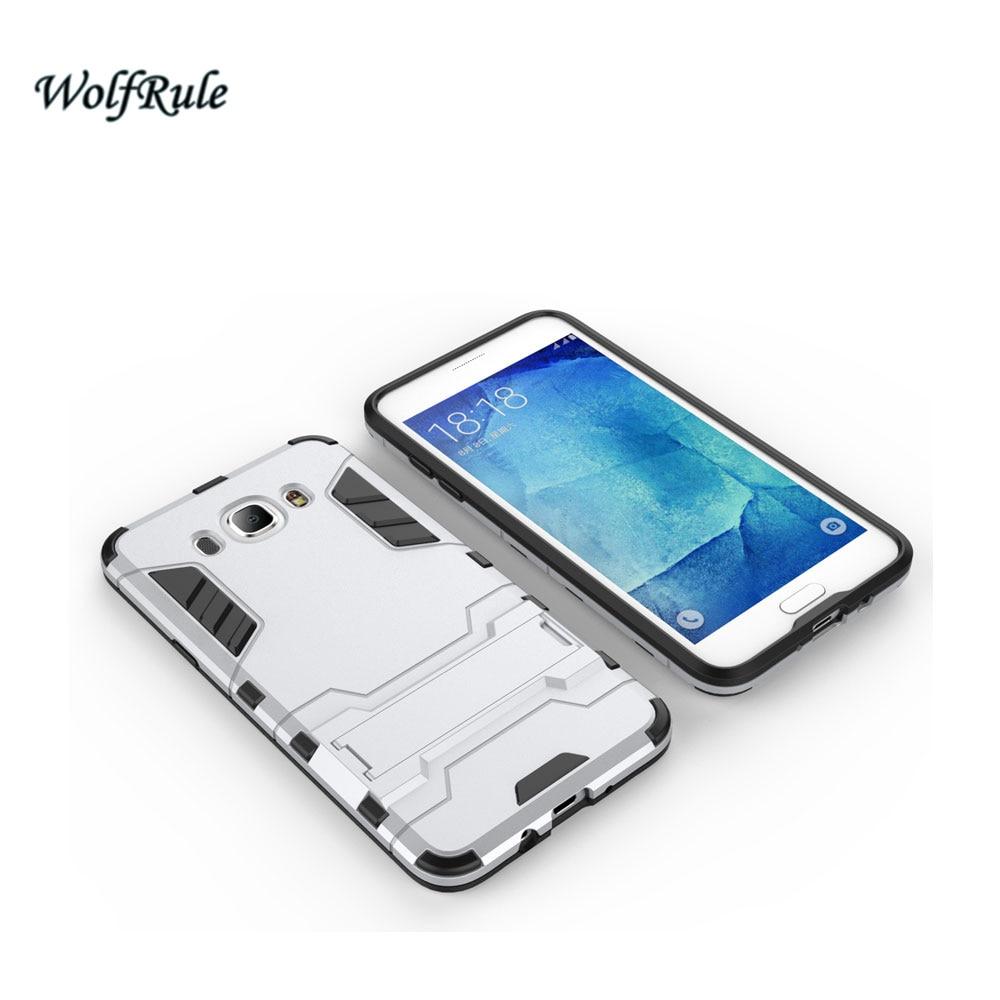 WolfRule sFor Case Samsung Galaxy J7 2016 Cover Soft TPU + Slim PC - Բջջային հեռախոսի պարագաներ և պահեստամասեր - Լուսանկար 5