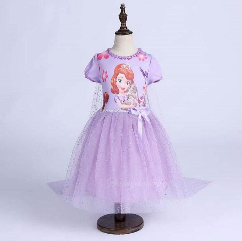 Tienda Online Bebé Niñas ropa Princesa Sofía vestido Elsa & Anna ...