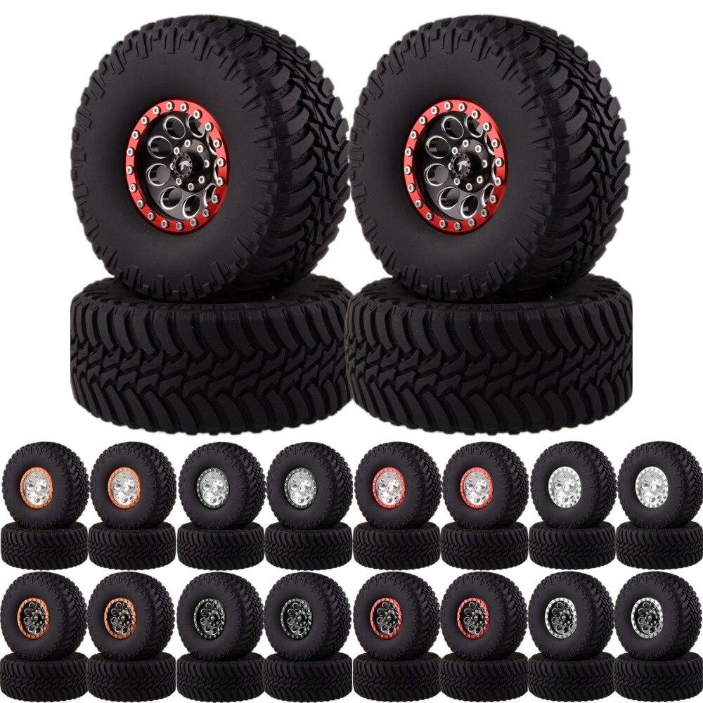 2.2 Beadlock Wheels & Tires 2020-3033 For 1/10 Crawler AXIAL Traxxas Tamiya HPI2.2 Beadlock Wheels & Tires 2020-3033 For 1/10 Crawler AXIAL Traxxas Tamiya HPI