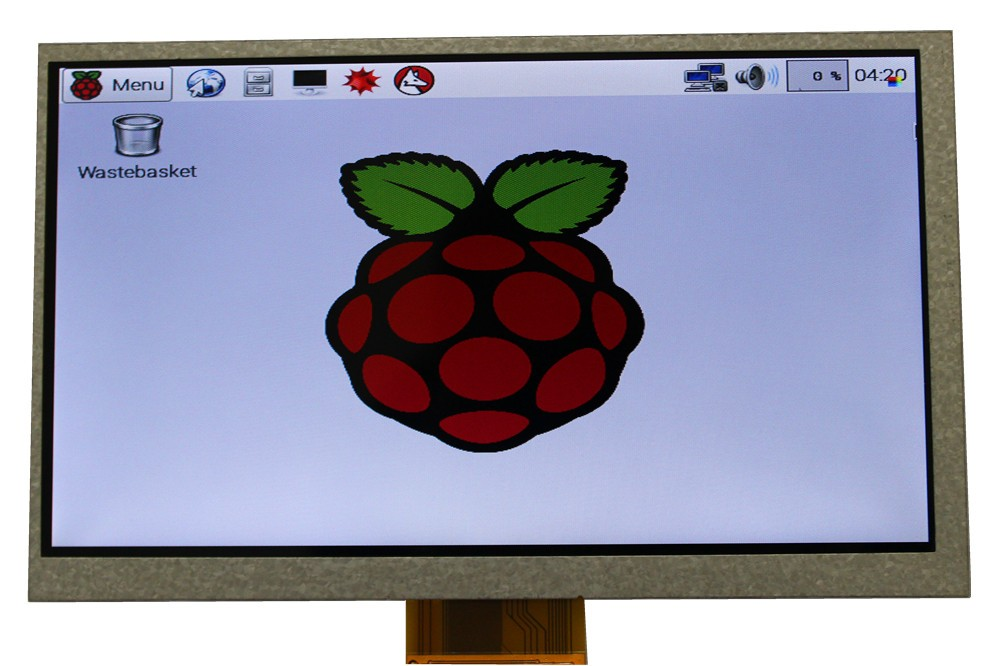 Elecrow Raspberry Pi 3 Display 7 Inch LCD Module 800x480 HDMI Interface Dots 7