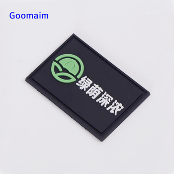 customized 3D rubber labels in garment labels tag eco-friendly silicone private name label for bags  PVC sewing tag