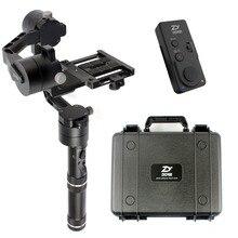Zhiyun Kran V2 Stabilisator Gimbal für 1,8 KG Mirrorless DSLR Canon Kamera W Fall Neue Fernbedienung Extended Dual handheld Kit