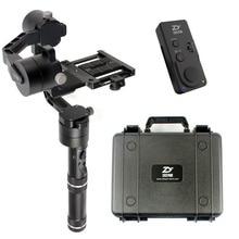 Zhiyun Grúa V2 Estabilizador Cardán para 1.8 KG DSLR Sin Espejo Canon Camera W Caso Nuevo Mando a distancia Extendida Dual de mano Kit