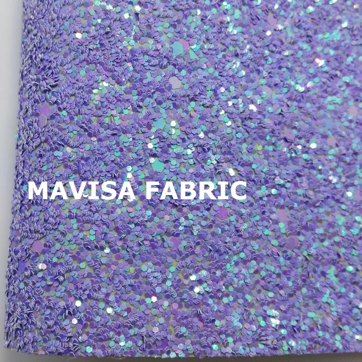 30cm x 134cm chunky glitter fabric white pink mint green grey shiny ...