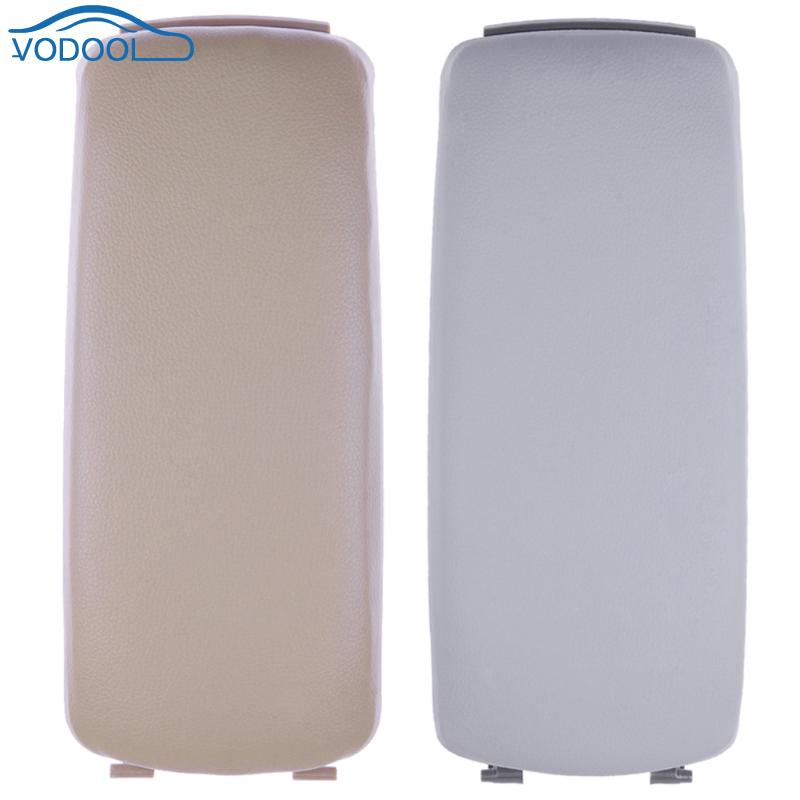 VODOOL Auto Leather Center Console Armrest Cover Lid Cover Fit For Audi A6 C5 A4 S4 B5 00-06 Years Auto Replacement Parts