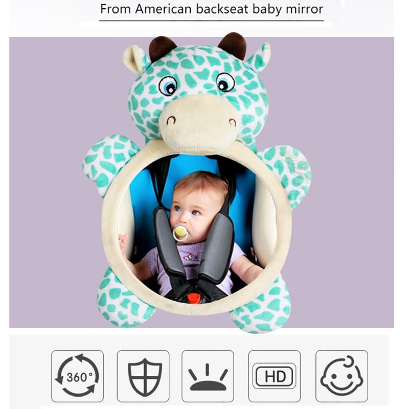 2019 New Car Seat Mirror Back For Baby Shatterproof Rear