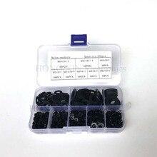 500pcs/set nylon washer black Flat washers Plastic Nylon Washer kit Assortment Set M2/M2.5/M3/M4/M5/M6/M8/M10