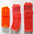 Nerf Clip Banana Mags Ammo Demolisher 12 15 18 Box Magazine Darts Clips Cartridge Compatible with N-STRIKE ELITE Airsoft Toy Gun