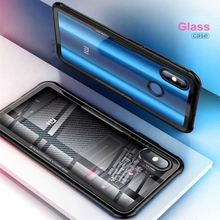 Tempered Glass Case for Xiaomi Mi 8 Mi8 Transparent Back Cover for Xiaomi Mi 8 Soft Silicone Bumper For Xiaomi 8 explorer Case все цены