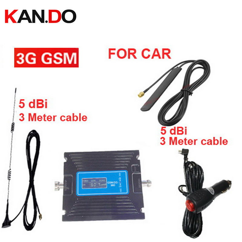 Gain Adjustable Car Use Booster GSM900 Mhz 3G WCDMA 2100Mhz Booster 3G Repeater For Car,GSM 3G Repeater Signal Booster