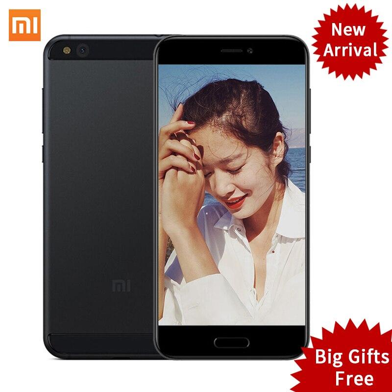 "Xiaomi Mi5c Mi 5C Mobile Phones Pinecone S1 Octa Core 9V 2A 3GB RAM 64GB ROM 5.15"" MIUI 8 Fingerprint ID"