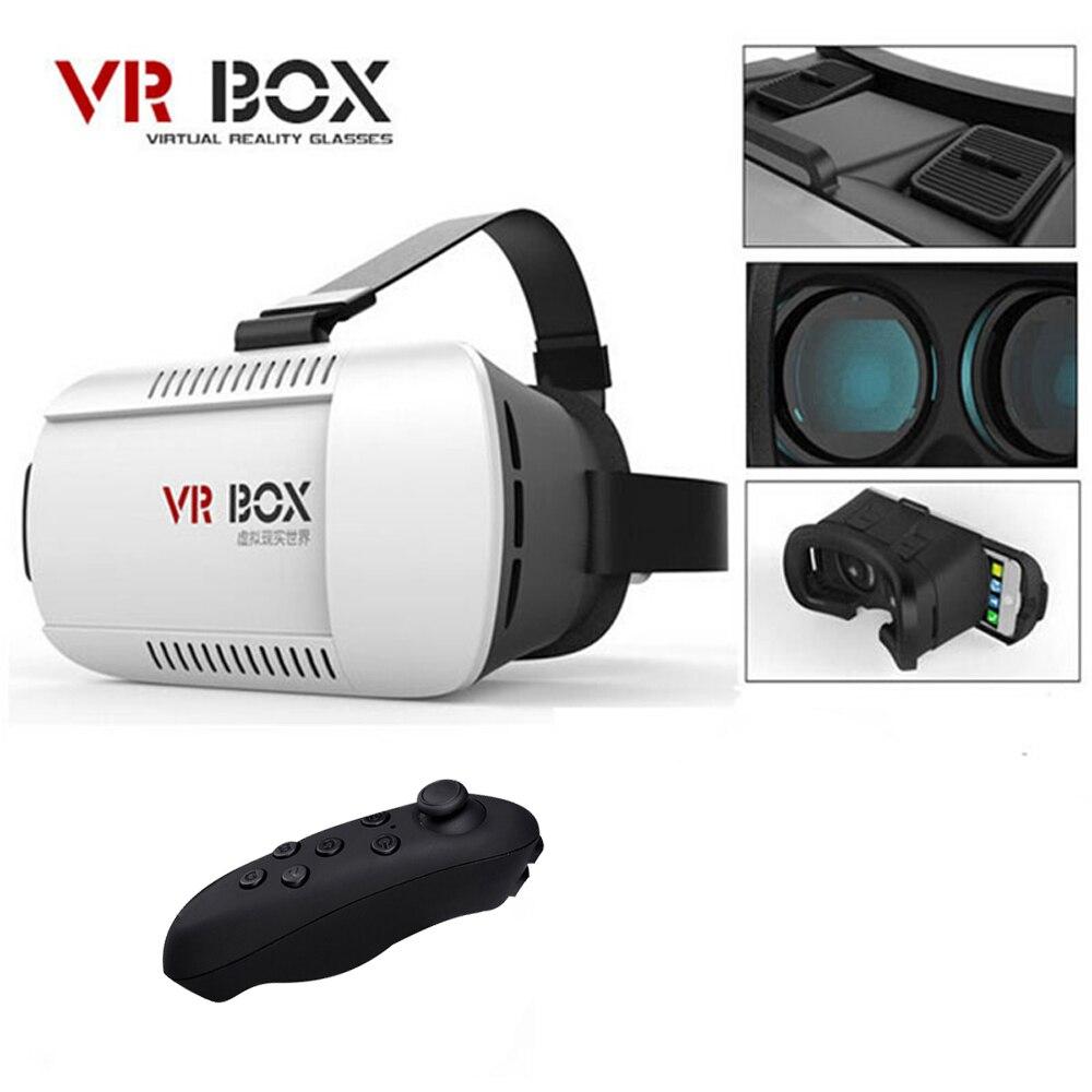 VR Box Vrbox Casque Video 3 D Gerceklik Google Cartone Occhiali di Realtà virtuale 3D VR Occhiali Smartphone Auricolare Casco Lente 3D