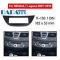 11-150 автомобильный DVD/CD для RENAULT Laguna III 2007 + Радио Стерео фасции Панель рамка адаптер Комплект 1 Din