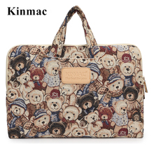 """2017 New Kinmac Model Sizzling Canvas Bag For Laptop computer 13″,14″,15 inch, For MacBook 13.three"""",15.four"""" Sleeve Case, Free Drop Delivery"""