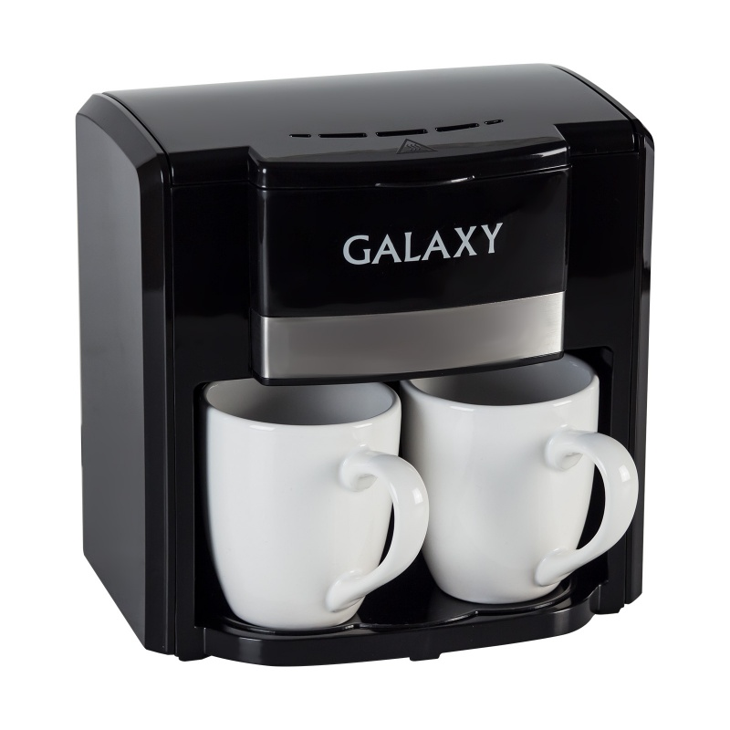 Coffee maker Galaxy GL 0708 BLACK yogurt maker galaxy gl 2693
