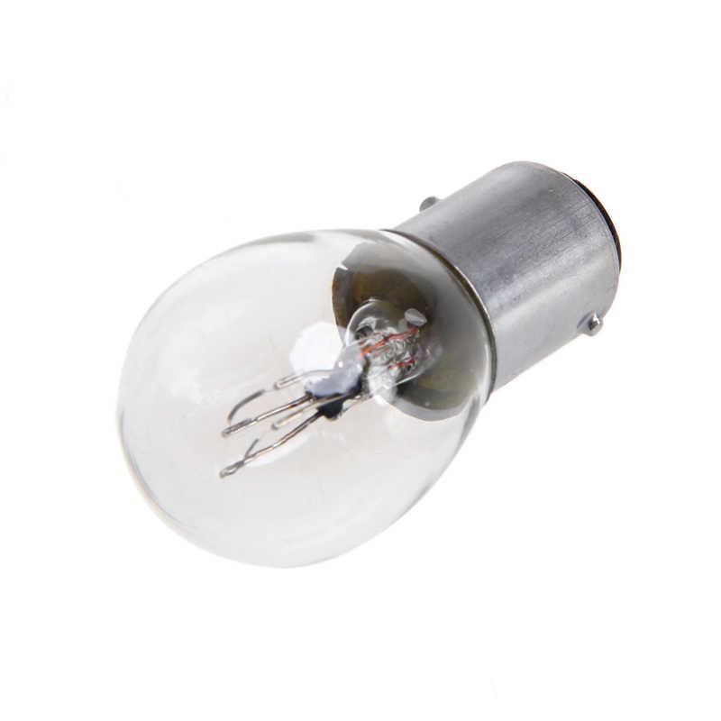 חמה חמה DC 12V 1157 10W אור הנורה רכב אוטומטי אופנוע בלם להפסיק אות הפעל הפוך זנב מנורה s25