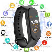Reloj Inteligente M4 M3 para hombre, pulsera de Fitness, Reloj deportivo impermeable IP67, rastreador de actividad de presión arterial, Reloj Inteligente