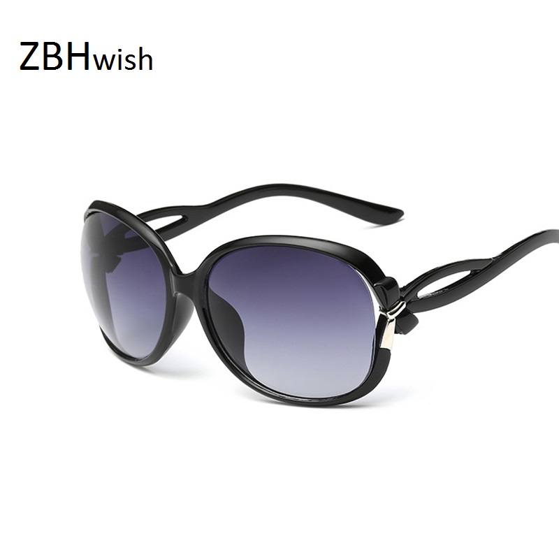 ZBHwish Luxury Classic Sunglasses Women Fashion Hollow Sun Glasses Retro Brand Designer Bowknot Sunglasses  Oculos De Sol UV400