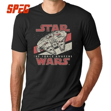2017 New Arrival Darth Vader Mens T Shirt Star Wars The Force Awakens VII Starwars Tees Fashion Design Male Top Tee Men Boy
